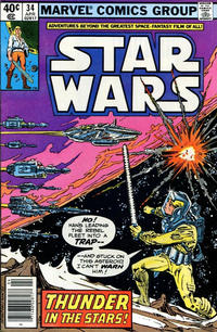 Cover Thumbnail for Star Wars (Marvel, 1977 series) #34 [Newsstand]