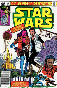 Cover Thumbnail for Star Wars (Marvel, 1977 series) #73 [Canadian]