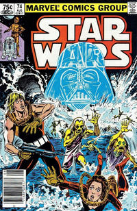 Cover Thumbnail for Star Wars (Marvel, 1977 series) #74 [Canadian]