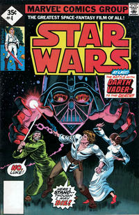 Cover Thumbnail for Star Wars (Marvel, 1977 series) #4 [35¢ Whitman Reprint Edition]