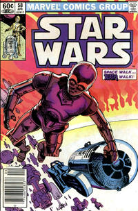Cover Thumbnail for Star Wars (Marvel, 1977 series) #58 [Newsstand]