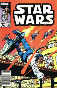 Cover Thumbnail for Star Wars (Marvel, 1977 series) #83 [Newsstand]