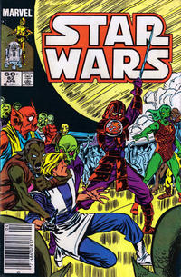 Cover Thumbnail for Star Wars (Marvel, 1977 series) #82 [Newsstand]