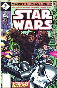 Cover Thumbnail for Star Wars (Marvel, 1977 series) #3 [Whitman]