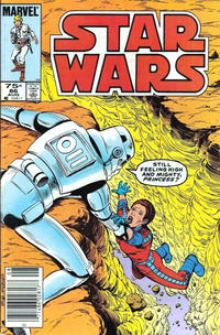 Cover Thumbnail for Star Wars (Marvel, 1977 series) #86 [Canadian]
