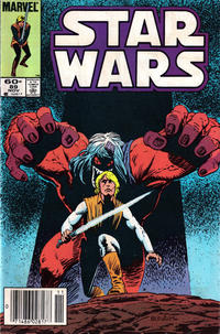 Cover Thumbnail for Star Wars (Marvel, 1977 series) #89 [Newsstand]