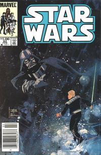 Cover Thumbnail for Star Wars (Marvel, 1977 series) #92 [Newsstand]