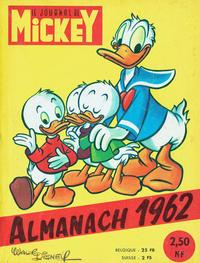 Cover Thumbnail for Almanach du Journal de Mickey (Disney Hachette Presse, 1956 series) #1962