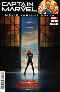 Cover Thumbnail for Captain Marvel (Marvel, 2019 series) #1 [Movie Photo Cover]