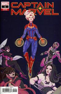 Cover Thumbnail for Captain Marvel (Marvel, 2019 series) #1 [Lauren Tsai]