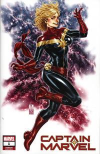 Cover Thumbnail for Captain Marvel (Marvel, 2019 series) #1 [Comic Sketch Art Exclusive - Mark Brooks]