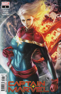 Cover Thumbnail for Captain Marvel (Marvel, 2019 series) #1 [Artgerm Walmart Exclusive]