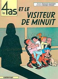 Cover Thumbnail for Les 4 as (Casterman, 1964 series) #4 - Les 4 As et le Visiteur de Minuit