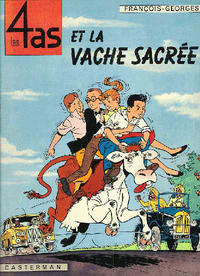 Cover Thumbnail for Les 4 as (Casterman, 1964 series) #3 - Les 4 As et la vache sacrée