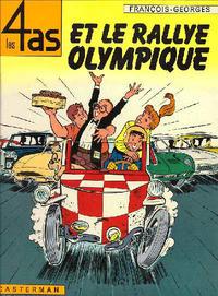 Cover Thumbnail for Les 4 as (Casterman, 1964 series) #8 - Les 4 as et le rallye olympique
