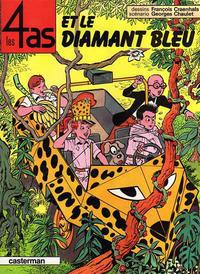 Cover Thumbnail for Les 4 as (Casterman, 1964 series) #17 - Les 4 As et le Diamant Bleu