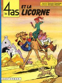 Cover Thumbnail for Les 4 as (Casterman, 1964 series) #18 - Les 4 As et la Licorne