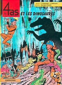 Cover Thumbnail for Les 4 as (Casterman, 1964 series) #35
