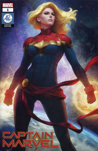 Cover Thumbnail for Captain Marvel (Marvel, 2019 series) #1 [Artgerm Exclusive]