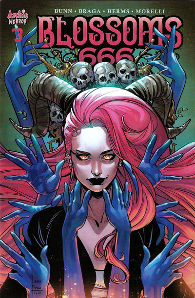 Cover for Blossoms: 666 (Archie, 2019 series) #3 [Cover C Matt Taylor]