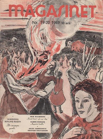 Cover for Magasinet (Oddvar Larsen; Odvar Lamer, 1946 ? series) #19-20/1949