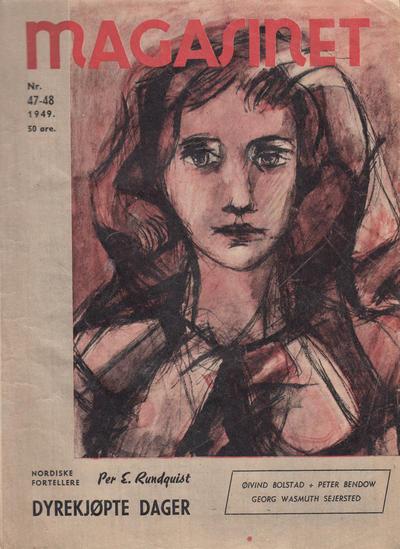 Cover for Magasinet (Oddvar Larsen; Odvar Lamer, 1946 ? series) #47-48/1949