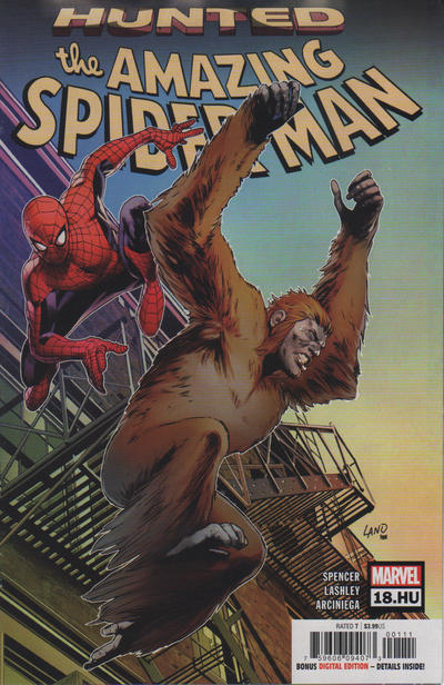 Cover for Amazing Spider-Man (Marvel, 2018 series) #18.HU
