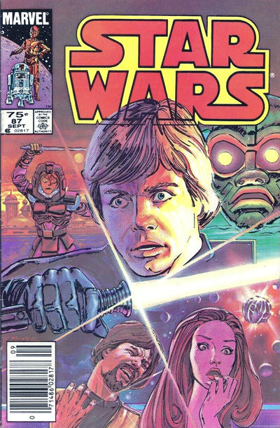 Cover for Star Wars (Marvel, 1977 series) #87 [Direct]