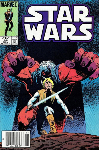 Cover for Star Wars (Marvel, 1977 series) #89 [Newsstand]