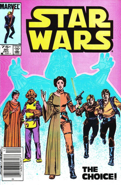 Cover for Star Wars (Marvel, 1977 series) #90 [Newsstand]