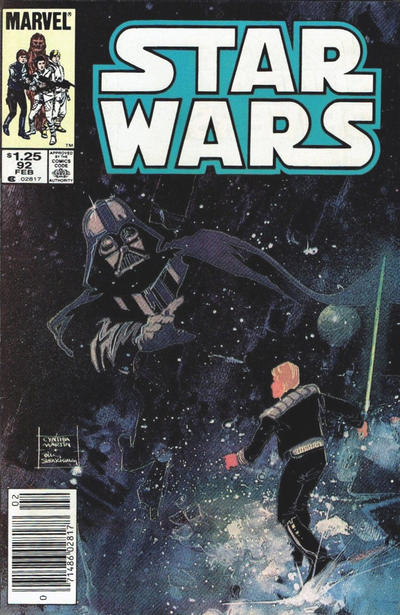 Cover for Star Wars (Marvel, 1977 series) #92 [Direct]