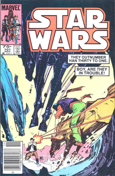 Cover for Star Wars (Marvel, 1977 series) #101 [Newsstand]