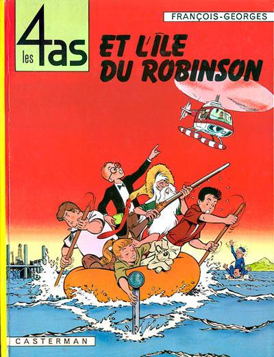 Cover for Les 4 as (Casterman, 1964 series) #9 - Les 4 As et l'Île Robinson