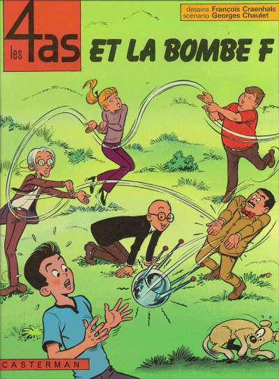 Cover for Les 4 as (Casterman, 1964 series) #13