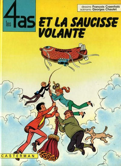 Cover for Les 4 as (Casterman, 1964 series) #14