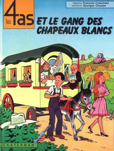 Cover for Les 4 as (Casterman, 1964 series) #15