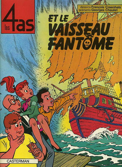 Cover for Les 4 as (Casterman, 1964 series) #16