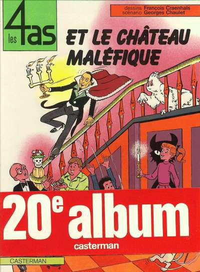 Cover for Les 4 as (Casterman, 1964 series) #20