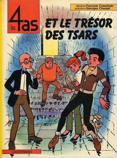 Cover for Les 4 as (Casterman, 1964 series) #21