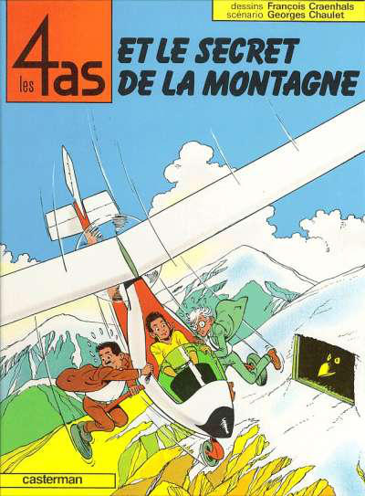 Cover for Les 4 as (Casterman, 1964 series) #24 - Les 4 As et le Secret de la Montagne