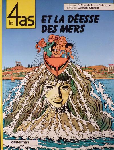 Cover for Les 4 as (Casterman, 1964 series) #25 - Les 4 As et la déesse des mers