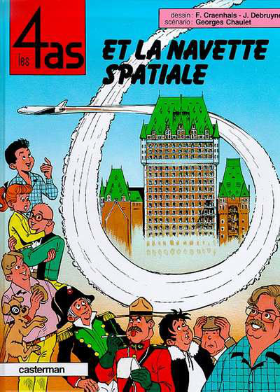 Cover for Les 4 as (Casterman, 1964 series) #26