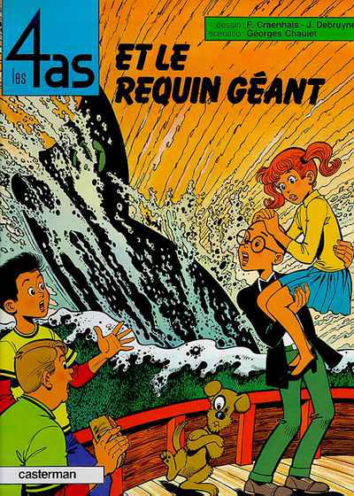 Cover for Les 4 as (Casterman, 1964 series) #27