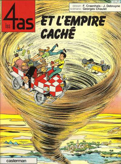 Cover for Les 4 as (Casterman, 1964 series) #28