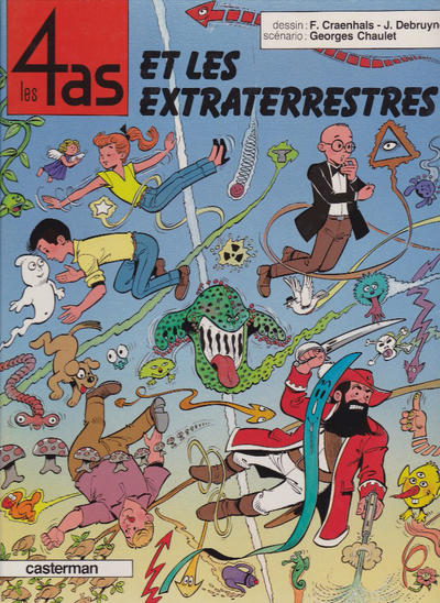 Cover for Les 4 as (Casterman, 1964 series) #30