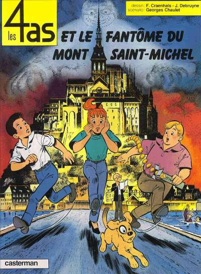 Cover for Les 4 as (Casterman, 1964 series) #31