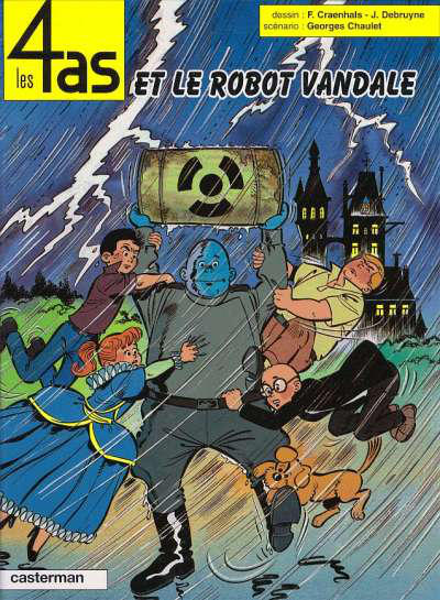 Cover for Les 4 as (Casterman, 1964 series) #32