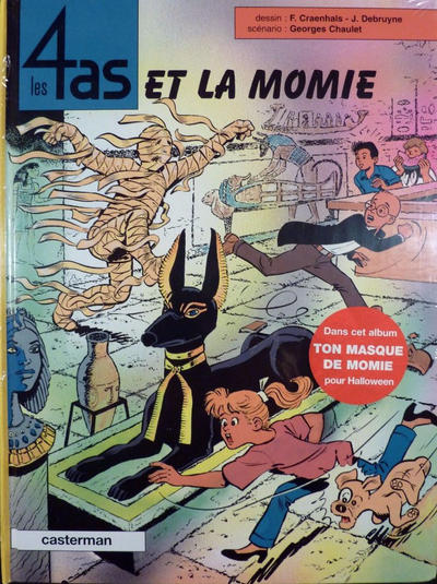 Cover for Les 4 as (Casterman, 1964 series) #36