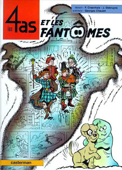 Cover for Les 4 as (Casterman, 1964 series) #37