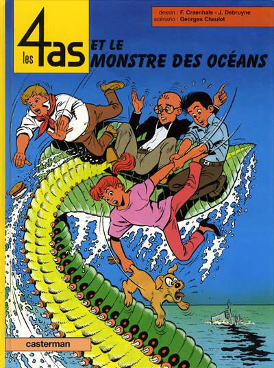 Cover for Les 4 as (Casterman, 1964 series) #38